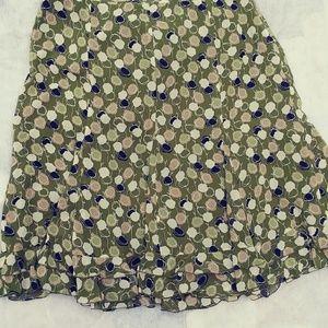 Ann Taylor ruffle skirt